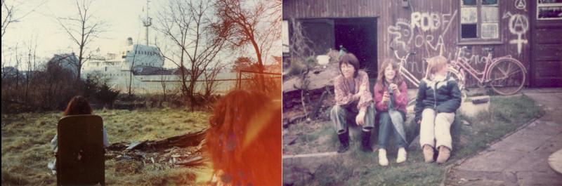 Pumpwerk in den 80ern